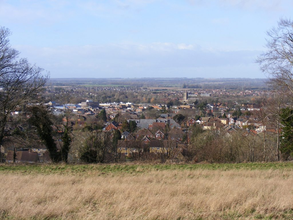 Andover, Hampshire, from Ladies Walk
